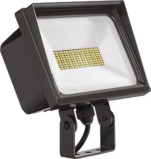 Lithonia Lighting QTE LED P3 40K 120 YK DDB M6 Flood Light, Dark Bronze