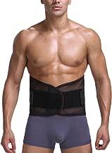 Zhhlinyuan Men Verstellbarer Taillen Trimmer Slimmer Belt Fitnessg/ürtel verstellbare atmungsaktiv Damen /& Herren Taille schlanker Fett Reduzierer Abdomen Shaper Wrap Improve Body Posture