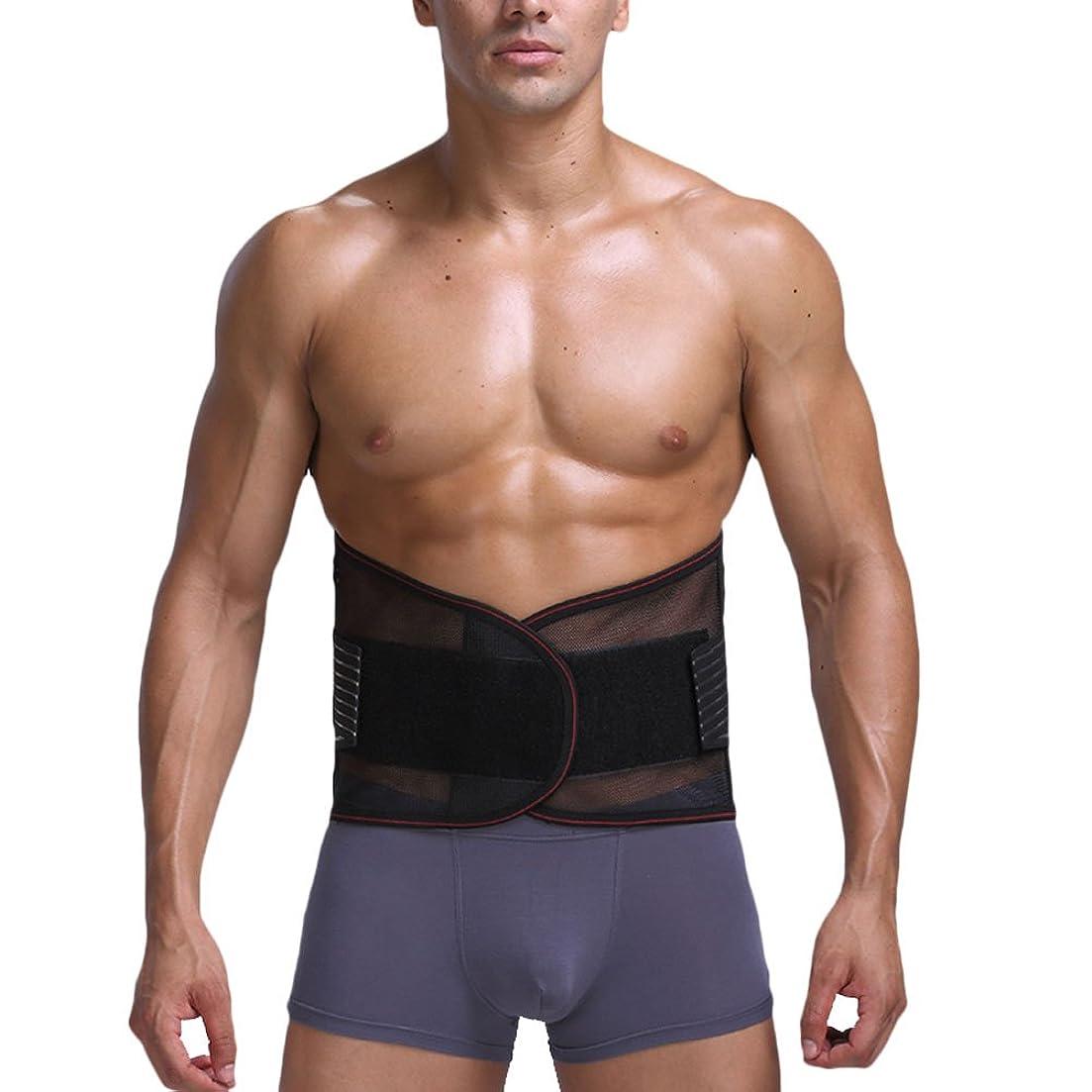 更新するモロニック地上でZhuhaitf 調整可能なウエストトリマーベルト 男性 女性 兼用 腰用サポーター トレーニング用 腹 ダイエット お腹引き締め ベルト 腰痛 腰 サポーター 通気 加圧