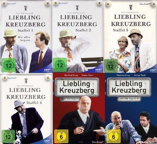 Liebling Kreuzberg Staffel 1-5 komplette Serie im Set - Deutsche Originalware [19 DVDs]