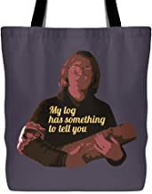 Twin Peaks - Log Lady - My Log Has Something To Tell You Unisex Hoodie Tote