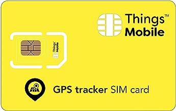 Tarjeta SIM para rastreador GPS / GPS tracker - GSM / 2G / 3G / 4G - ideal para rastreador GPS / GPS tracker para uso doméstico e industrial con un crédito incluido de 10 €