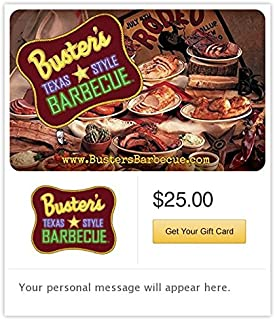 Buster's Texas Style Barbecue Gift Cards - E-mail Delivery
