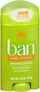 Ban Inv Sld Sweet Surrend Size 2.6z Ban Sweet Surrender Invisible Solid