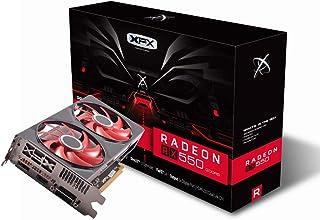 XFX Radeon RX 550 - Tarjeta gráfica DDR5 de Doble disipación (4 GB, RX-550P4PFG5)