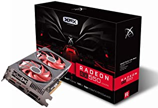 XFX Radeon RX 550 4GB DDR5 Double Dissipation Graphics Card RX-550P4PFG5