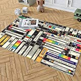 Timbersco Area Rugs VHS Baby Rug for Crawling Kids Play Mat Room Decor Carpet Gift Game Floor Non-Slip Pad Yoga Mats Throw Rugs, 39 x 59 inch