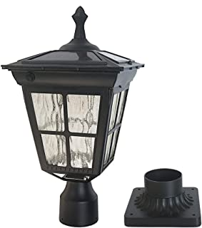 Best solar column mount light Reviews