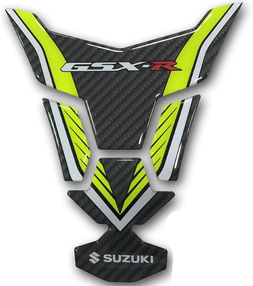 Suzuki 2017 2018 GSX-R GSXR Great interest 1000 Fiber Tank Carbon Yellow In stock PAD 99