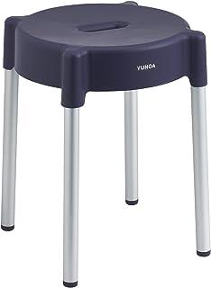 レック YUNOA (ユノア) アルミ脚 風呂いす 高さ35cm (パープル) 防カビ ・ 抗菌 B00008