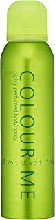 Colour Me | Volt | Body Spray | Fragrance for Men | Aromatic Fougere Scent | 5.1 oz