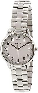 Women's Easy Reader TW2R58700 Silver Stainless-Steel Analog Quartz Dress Watch