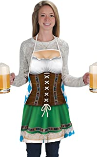 Women's 54625 Fraulein Fabric Novelty Apron