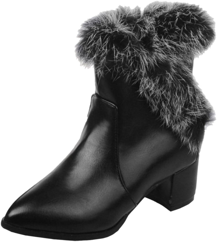 FANIMILA Women Short Boots Zipper