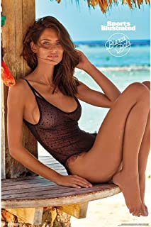 "Trends International Sports Illustrated: Swimsuit Edition - Bianca Balti 18 Wall Poster, 22.375"" x 34"", Unframed Version"