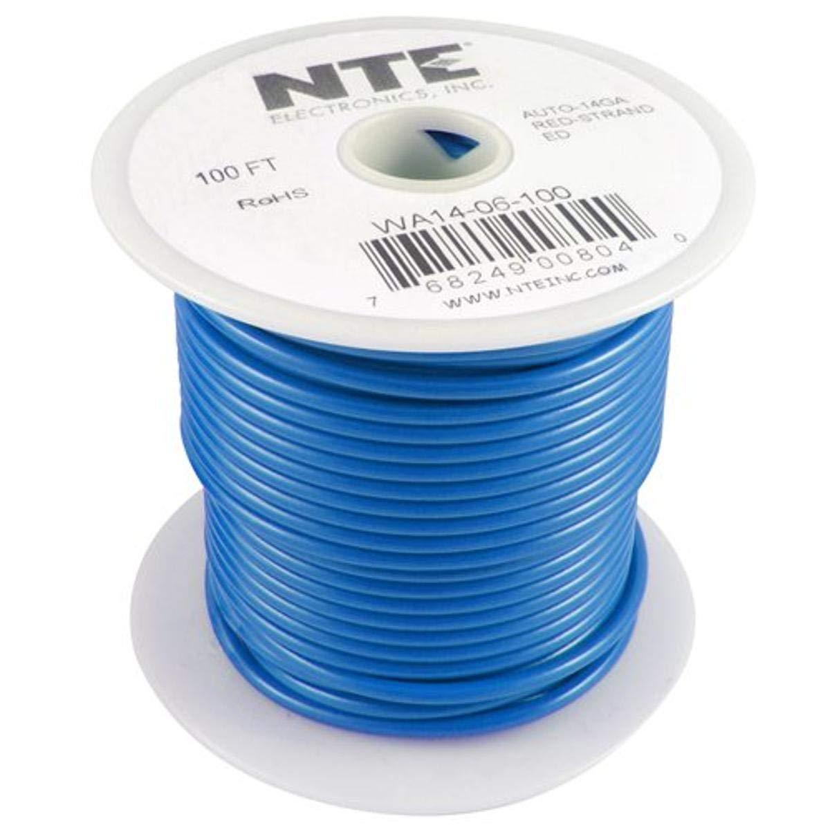NTE Electronics WA14-06-20 Hook Up Wire Japan's Max 59% OFF largest assortment Automotive Type Gau 14