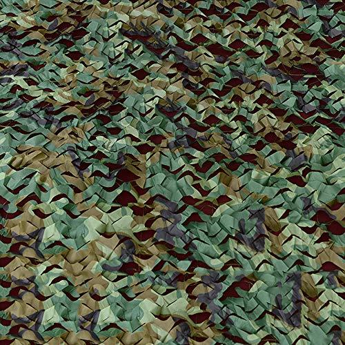 SACYSAC Camouflage camouflage net, anti-luchtvergroening cover plant en mijn cover schaduw milieubescherming net