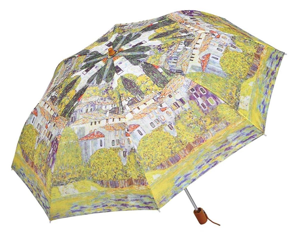 段落十分ではない[マスターピース コレクション] 折りたたみ傘/クリム トドナウ河沿 CSE-1431