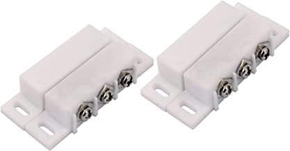 2Sets Magnetic Reed Switch Normally Open Closed NC NO Door Alarm Window Security