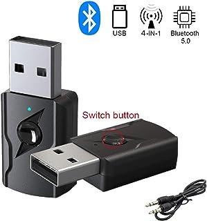 comprar comparacion GeekerChip Receptor/Transmisor Bluetooth 5.0 USB,Transmisor Bluetooth TV,Adattatore Wireless Portatile per Casa/Auto/Lapto...