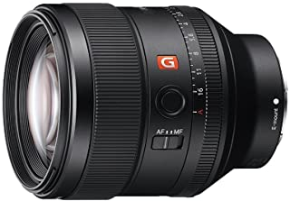 Sony SEL-85F14GM G Master portretlens, vaste brandpuntsafstand, 85 mm, F1.4, volledig formaat, geschikt voor A7, A6000, A5...