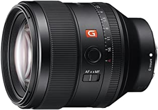 Sony SEL85F14GM FE 85 mm F1.4 GM Mid Telephotophoto Prime Lens
