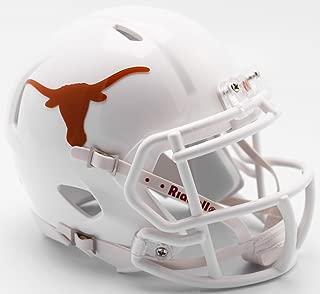 Riddell NCAA Texas Longhorns Helmet Mini SpeedHelmet Replica Mini Speed Style 2017 Design, Team Colors, One Size