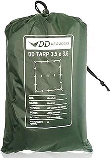 DD Hammocks DD Tarp タープ 3.5 x 3.5 広々としたハンモックシェルター XLハンモックにも対応 軽量な防水タープ 耐水性 3000mm [並行輸入品]
