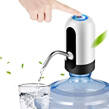 Rechargable Wireless Auto Electric Gallon Bottled Drinking Water Pump Dispenser Switch, Automatic Electric Water Drinking ...