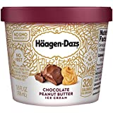 Haagen Dazs, Ice Cream, 3.6 Oz. Cup (12 Count) (Chocolate Peanut Butter)