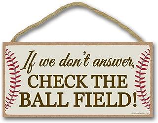softball door sign ideas