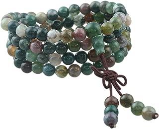 108 Stone Wrist Mala Bracelet,Necklace,Tibetan Buddhist Prayer Beads