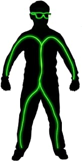 led stickman costume
