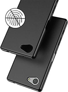 WOEXET SONY Xperia Z5 Compact ケース エクスペリア SO-02H 艶消しカバー TPU 薄型 軽量 滑り防止 指紋防止 スリム ソフト 黒