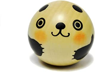 Usaburo Sosaku Kokeshi Doll Yurakoro Panda Made in Japan