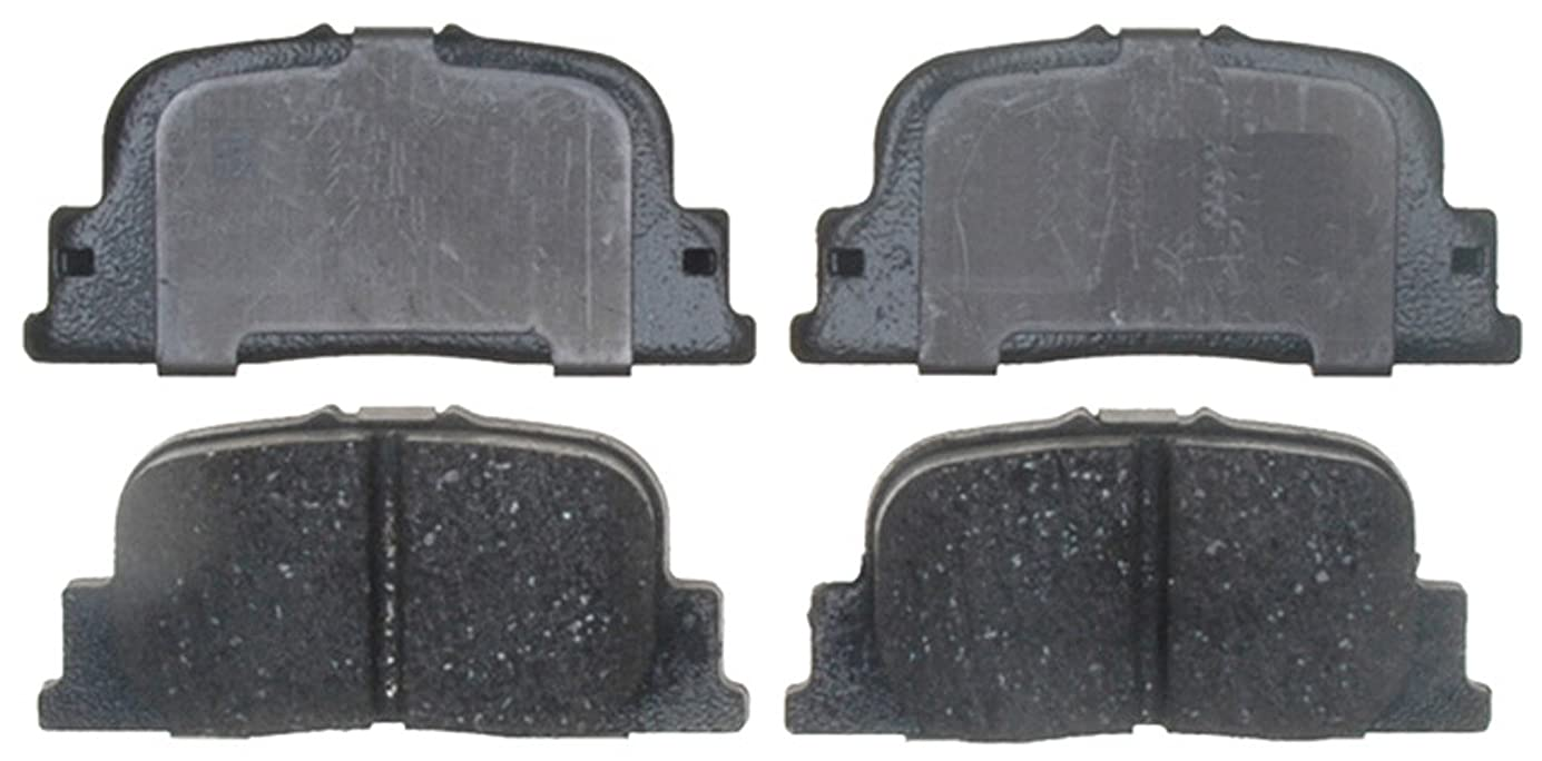ACDelco 17D835C Professional Ceramic Rear Disc Brake Pad Set ljvixw8625