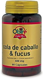 Cola de caballo + Fucus 400 mg. 90 capsulas
