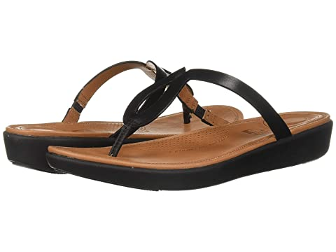 9ad4987f57a FitFlop Strata™ Toe-Thong Sandals - Leather at 6pm