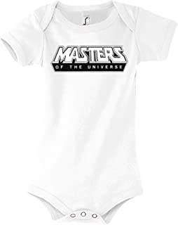 TRVPPY Baby Kurzarm Body Strampler Masters of The Universe