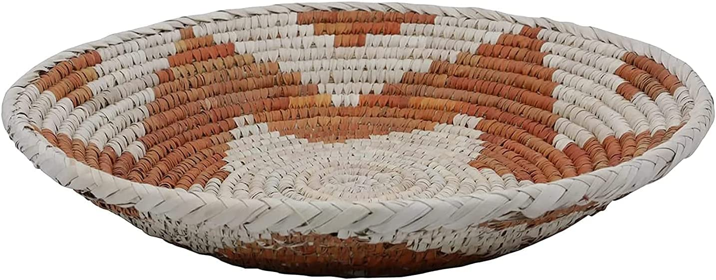 Hanging Woven Wall Basket St Decor Red sale Max 77% OFF