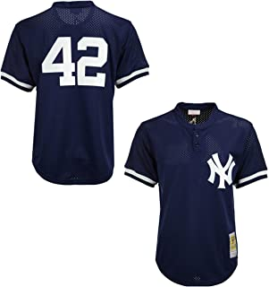 Mariano Rivera Navy New York Yankees Authentic Mesh Batting Practice Jersey
