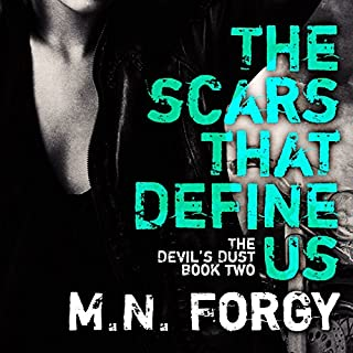 The Scars That Define Us audiobook cover art