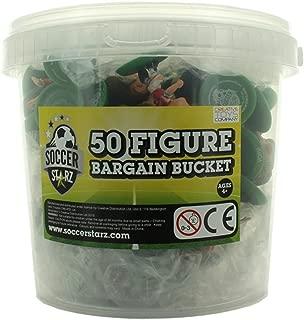 Crescent SoccerStarz Standard Football Figure Bargain Bucket (50-Piece)