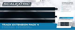Scalextric C8526 Track Extension Pack 4 - Straights 1:32 Scale Accessory by Scalextric