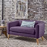 Christopher Knight Home Loveseat Dekofigur Bridie Loveseat, gedämpftes Violett