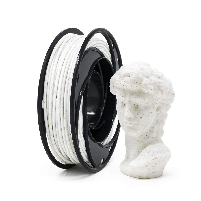 Gizmo Dorks Marble PLA Tulsa Mall 3D 1.75mm Printer White Sale item 200g Filament