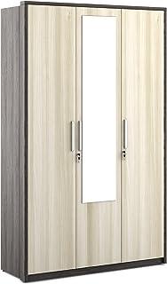 Spacewood Midas 3 Door Wardrobe with Mirror  Shadow Oak