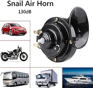 New 12V Universal Mini Loud Electronic Motorcycle Snail Horn Loud Voice Speaker Air Horn Auto Car Motorbike Alarm