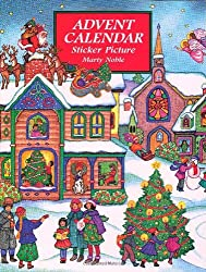 Advent Calendar Sticker Picture (Dover Sticker Books)