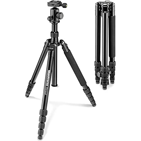 Manfrotto Tripodkit Element Big Alu Blk Mkeleb5bk Bh Kamera